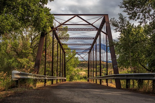 bridge rain colorado paonia blackbridge