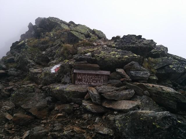 Aufstieg Hasenöhrl, Wintersattel