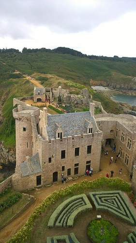 Fort la Latte , Brittany by despod