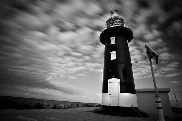South Mole lighthouse, Fremantle. Western Australia