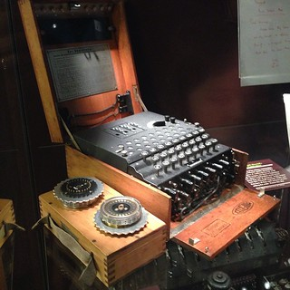 The maths of the possible combinations an enigma machine could produce makes me want to cry! @mcafee_uk #BletchleyPark