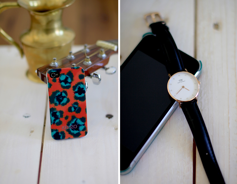 Kenzo iPhone case Ray-Ban Mister Spex glasses Pilgrim Jewelry Daniel Wellington watch Essentials Accessoires CATS & DOGS Ricarda Schernus Berliner Blogger 5