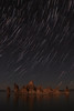 Mono Lake Star Trails