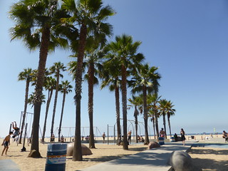 Muscle beach en Santa Monica
