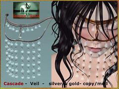 Bliensen - Cascade - Veil - gold & silver Kopie