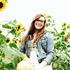 A little sneak peak at some of our senior picture photo shoot today #sunflowers #beauty