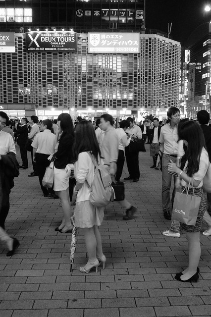 Tokyo Shinbashi Friday Night