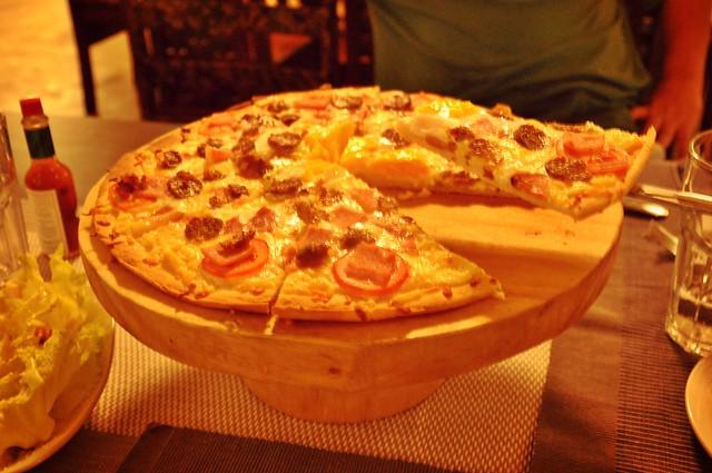 sunny Vigan pizza