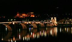 Alte Brücke und Schloss, Heidelberg