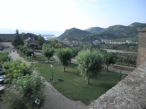 Desde el castillo de Aínsa