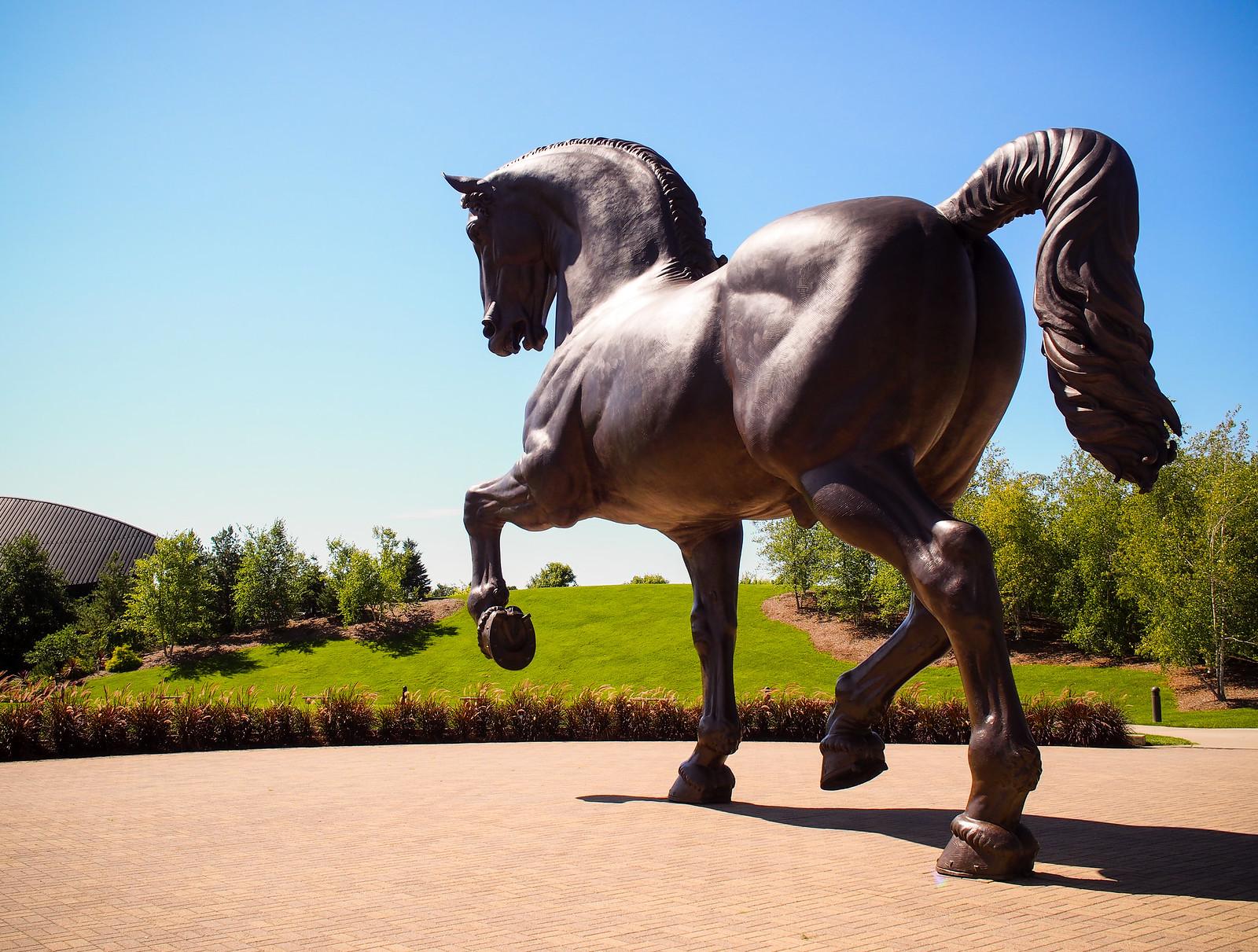 The American Horse Meijer Gardens