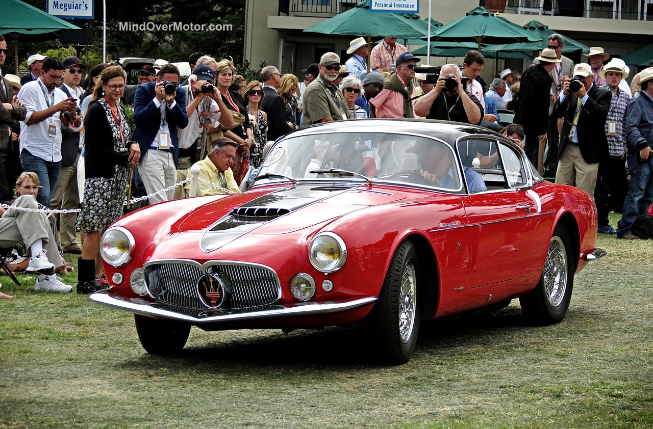 Pebble Beach 2014 Maserati A6G Frua Coupe