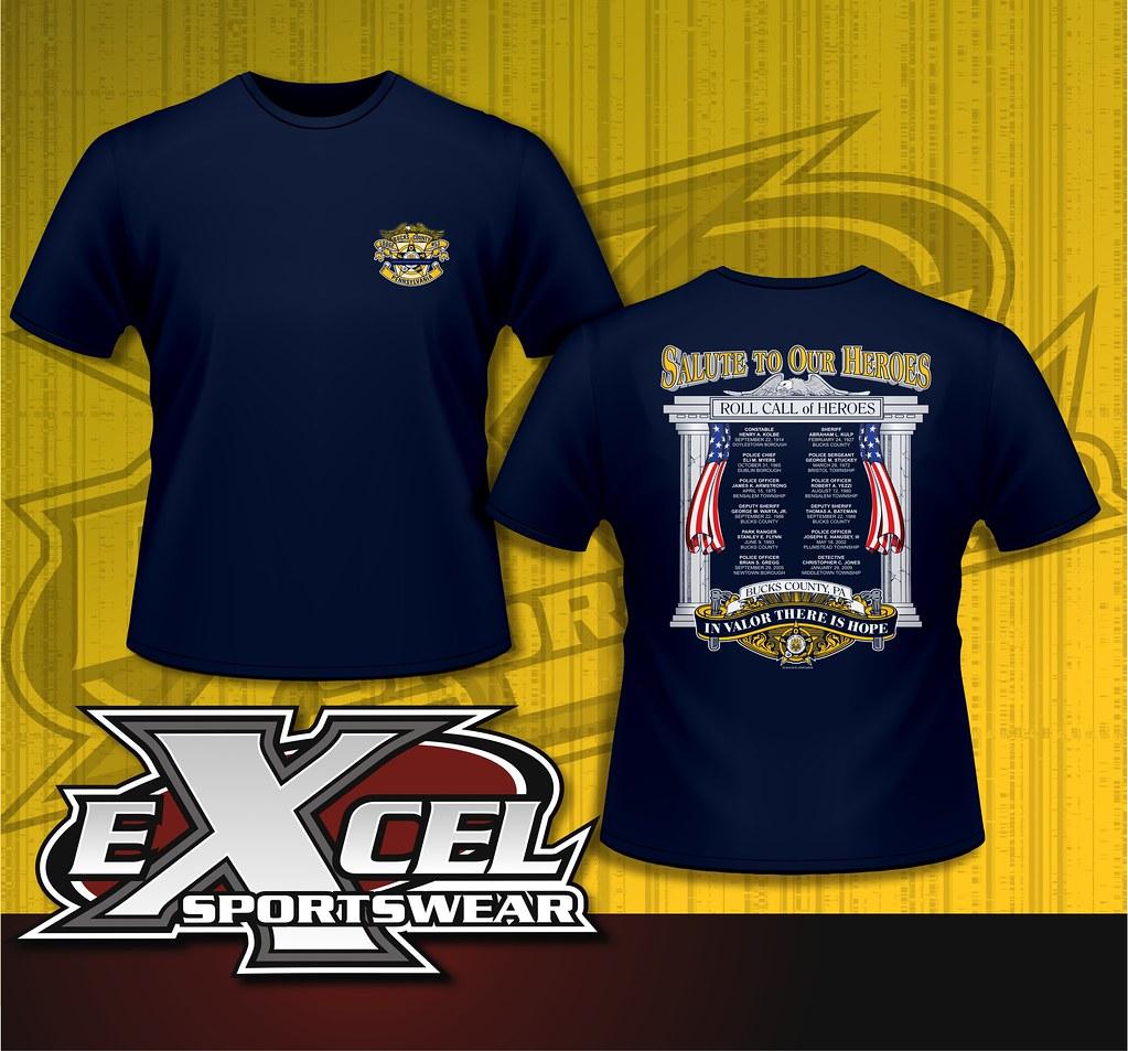 Custom Law Enforcement Shirts Designed For You
