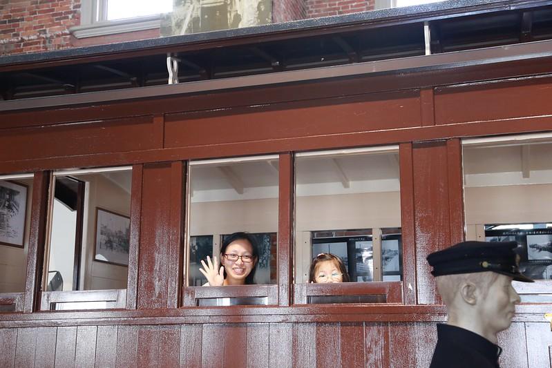 昭和時代木列車廂