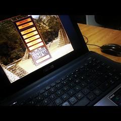 Aprendendo a jogar Empire Earth II com o maninho. Prevejo batalhas épicas nesse período de férias. ;D #100happydays #day25
