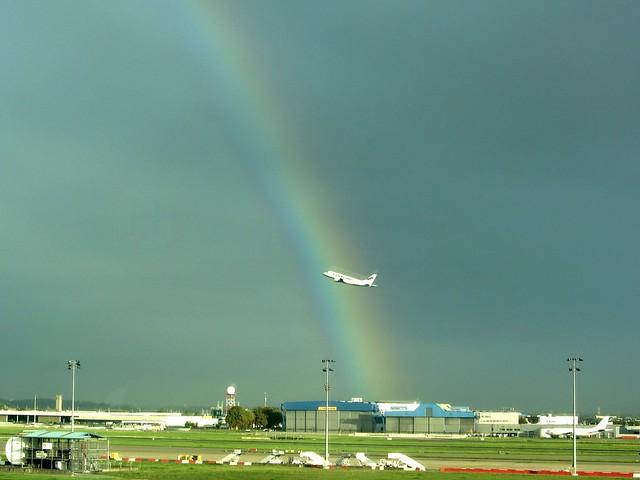 Rainbow Takeoff