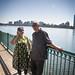 Small photo of Mohini & Haymant at Charles River
