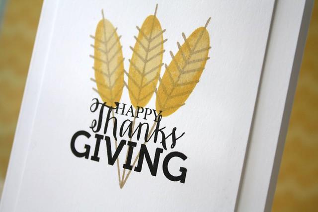 SSS~Thanksgiving Table Stamp Set