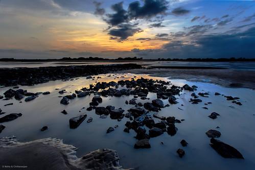 india beach sunrise dawn gujarat surat suvali
