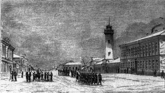 Turnul pompierilor Chisinau