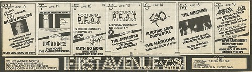 06/10 - 16/87 First Avenue, Minneapolis, MN (Ad)