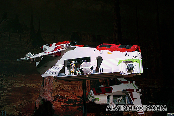 One of the battle planes