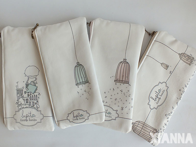 Lupita DisBo by Xianna organic cotton little bags