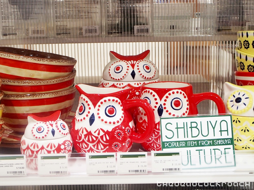ceramic owl, jurong east, shibuya, singapore, tokyu hands, tōkyū hanzu, west gate, 東急ハンズ, singapore