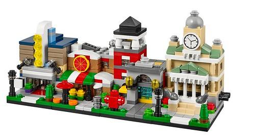 LEGO Bricktober Mini Modulars