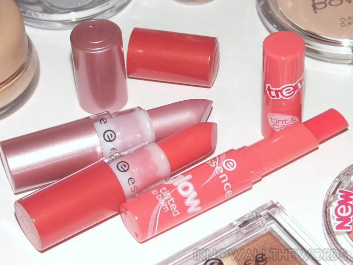 essence lipstick cutie mac and miss peach, tint and care glam up! (2)