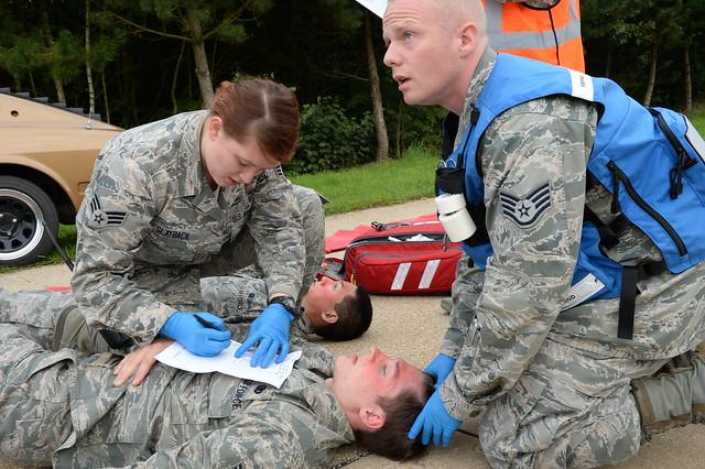 Airmen participate in Exercise