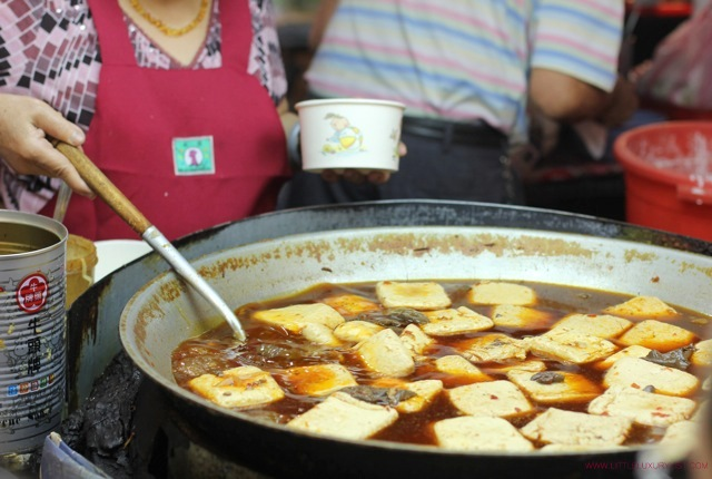 Taipei street market tofu by little luxury list