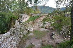 Ferrette.Les ruines du château de Ferrette.11