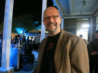 IMG_2181 2014-09-13 Art Party Atlanta Contemporary Art Center ACAC Ric Geyer with my glasses