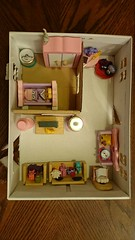 art, furniture, room, miniature, dollhouse, toy,