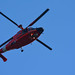 United States Coast Guard Dolphin Helicopter over DC