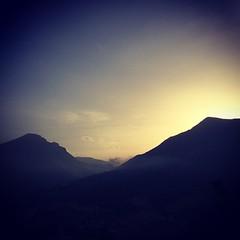 Monti Gemelli al tramonto #visitCivitella