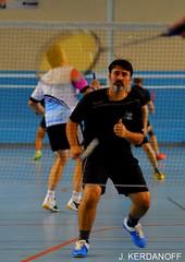 Tournoi de Badminton à Saint André de Cubzac, organisé par le SACB.