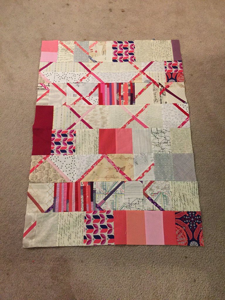Do good stitches September quilt and extra panel.