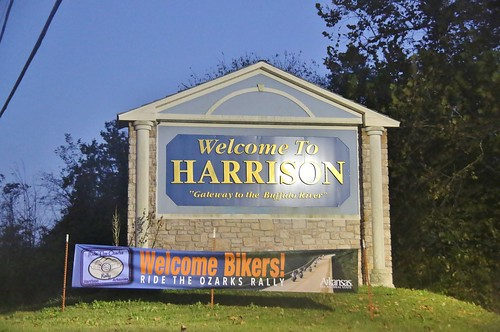 2016 welcometo sign arkansas ar harrison