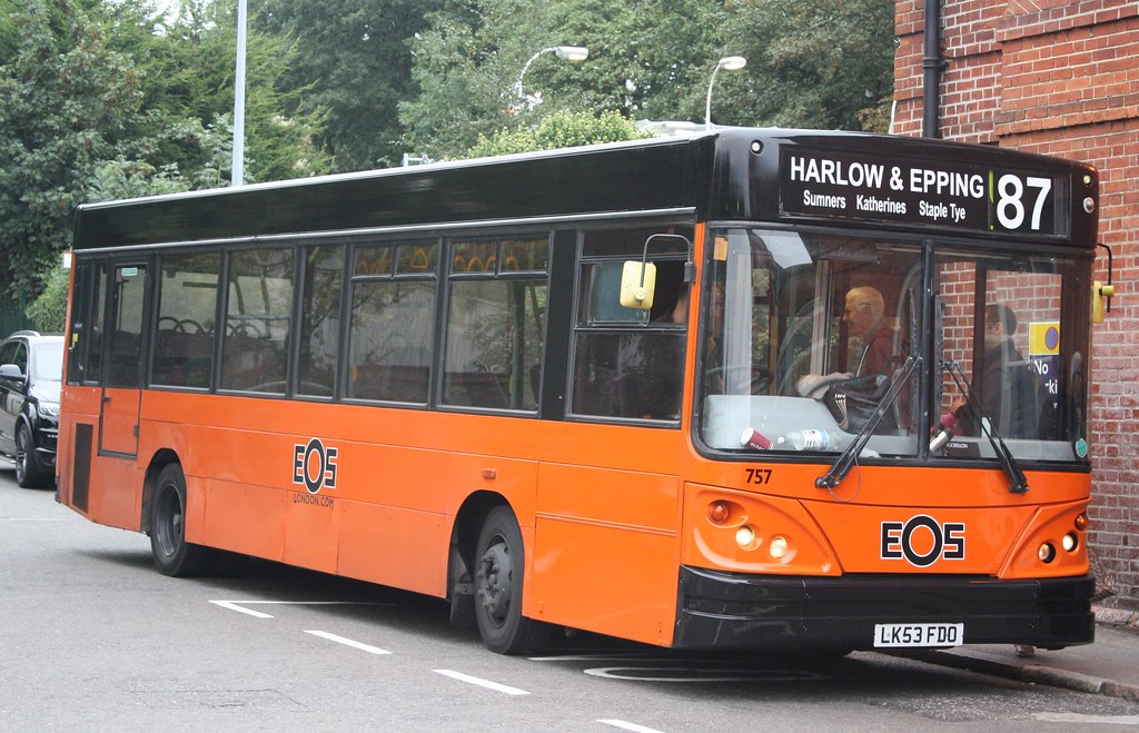 Buses from harlow to epping