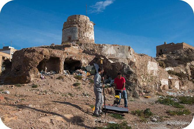 Un georradar hallará restos romanos en el Monte Sacro