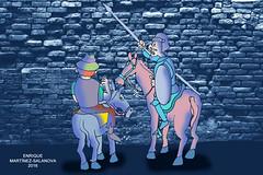 Don Quijote topa con la iglesia