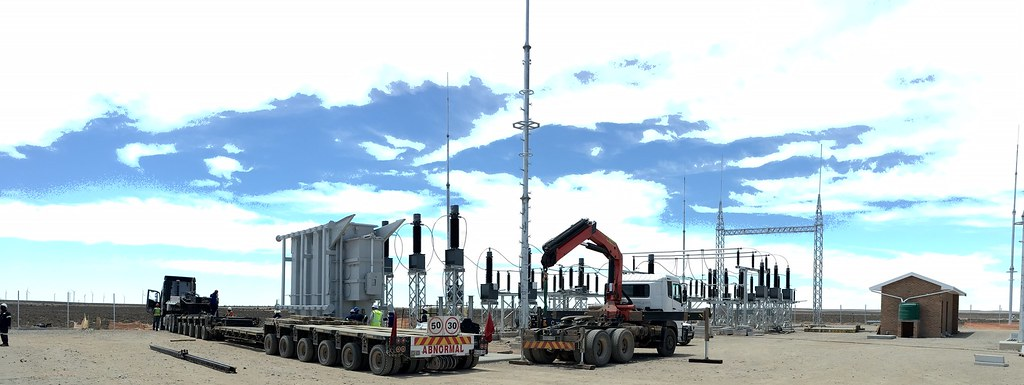 Loeriesfontein and Khobab wind farms receive main transformers