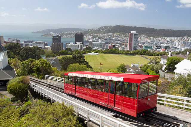 cable car @ Wellington Botanic Gardens