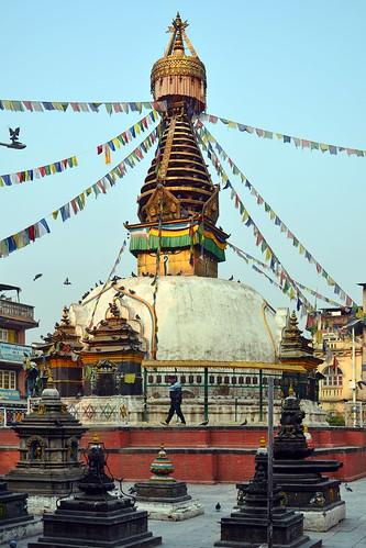 Nepal - Kathmandu - Drupgon Jangchup Choeling Stupa - 2