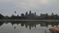 Reflecting pool. Angkor Wat, Cambodia