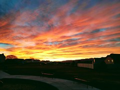Eagle Mountain sunset