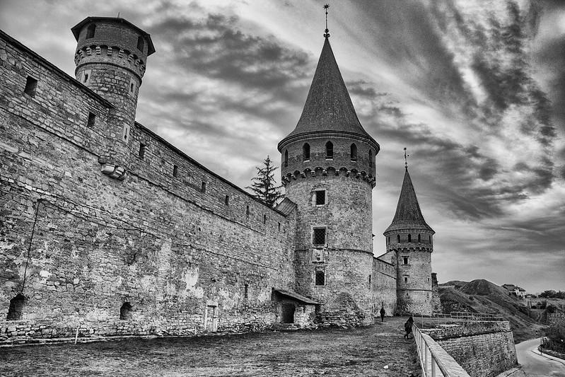 2016-10-15 Ukraine. Kamianets-Podilskyi Castle
