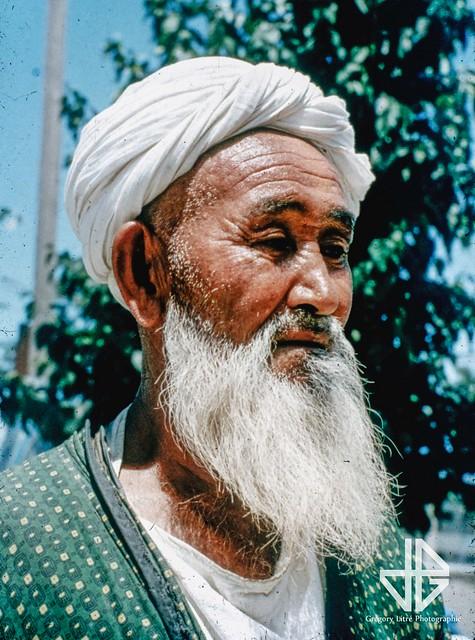 Old Uzbek man (1960s)